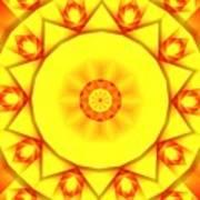 Kaleidoscope 100 Art Print