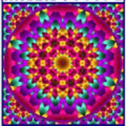 Kaleidoscope 3 Art Print
