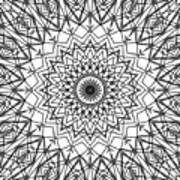 Kaleidoscope 790 Art Print