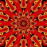 Kaleidoscope 89 Art Print