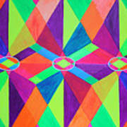 Kaleidoscope Wise Art Print