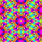 Kaleidoscopic Mosaic Art Print
