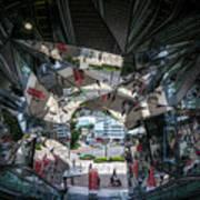 Kaleidoscopic Tokyo Art Print