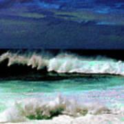 Kaluakoi Surf Art Print