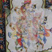 Kama Sutra Thrice Art Print