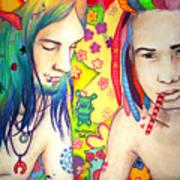Kamil And Louis Art Print
