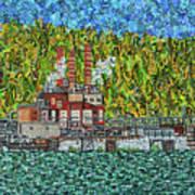 Kanawha River Art Print