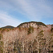 Kancamagus Highway - White Mountains New Hampshire - Rocky Cliff Art Print