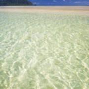 Kaneohe Sandbar Art Print
