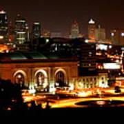 Kansas City Lights Art Print