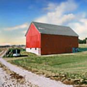 Kansas Landscape II Art Print