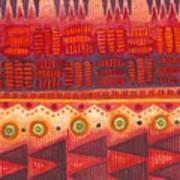 Kapa Pattern 4 Art Print