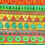 Kapa Patterns 10 Art Print