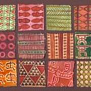 Kapa Squares 2 Art Print
