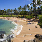 Kapalua Beach Resort Art Print
