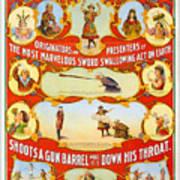 Kar-mi And The Great Victorina Troupe Originators Art Print