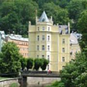 Karlovy Vary 1 Art Print