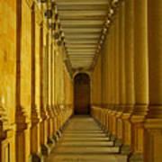 Karlovy Vary Colonnade Art Print