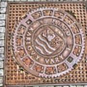 Karlovy Vary Element Art Print