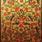 Kashmir's Kashida Art Print