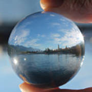 Kaslo Through The Looking Glass Art Print
