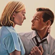Kate Winslet And Leonardo Dicaprio Art Print