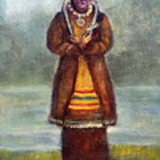 Kateri Tekakwitha Art Print