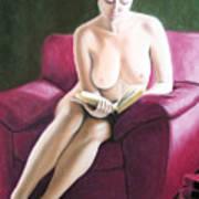 Kathryns Pasttime Art Print