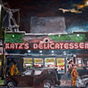 Katz Deli Art Print