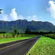 Kauai Countryside Art Print