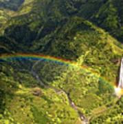 Kauai Rainbow Art Print