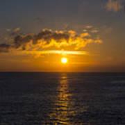 Kauai Sunset 4 Art Print