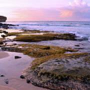 Kauai Tide Pools At Dawn Art Print