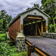 Kaufman Covered Bridge - Pa Art Print