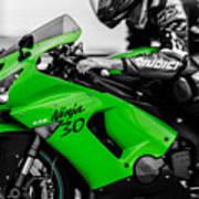 Kawasaki Ninja Zx-6r Art Print