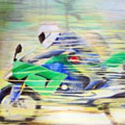 Kawasaki Quick - Kawasaki Zl1000 Art Print
