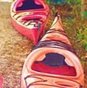 Kayak Time Art Print