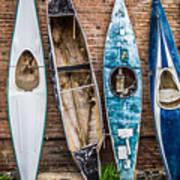 Kayaks 4 Art Print
