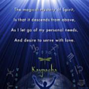 Kaypacha's Mantra 12.9.2015 Art Print