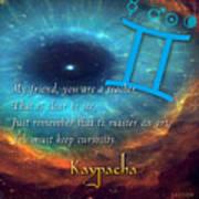 Kaypacha's Mantra 6.10.2015 Art Print