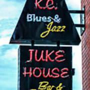 Kc Blues Art Print