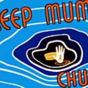 Keep Mum Chum Art Print by War Is Hell Store