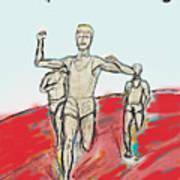 Keep On Running, Athletes Art Print