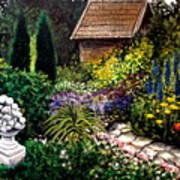Keeper Of The Garden Art Print