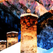 Keeper Of The Light Adishi Svaneti Art Print