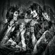 Keith And Ronnie 2 Art Print