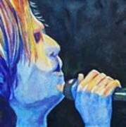 Keith Urban In Concert Art Print