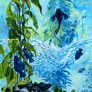 Kelp Tank, Monterey Bay Aquarium Art Print