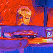 Kennebunkport Inn Piano Singer Art Print
