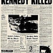 Kennedy Assassination, 1963 Art Print